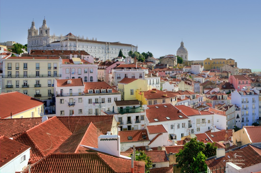 View over Alfama © Pixabay