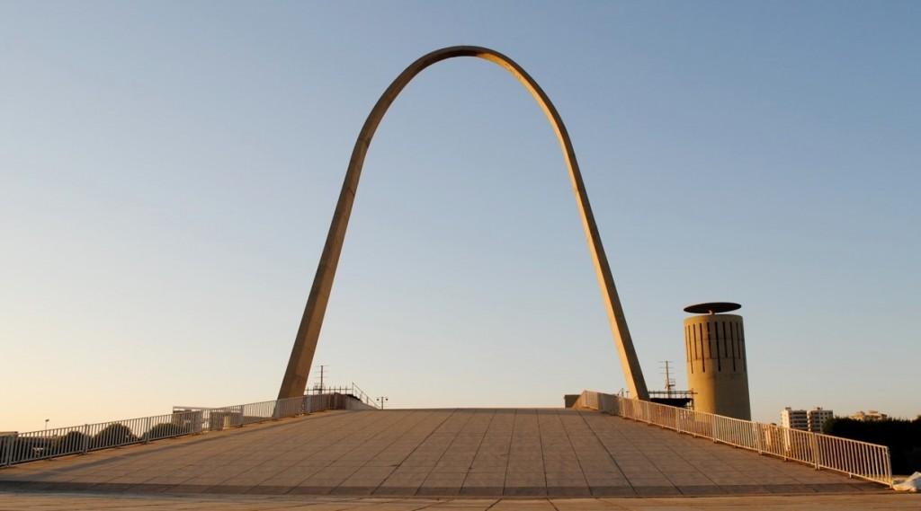 Arch, Rachid Karami Center | © Amani El Charif