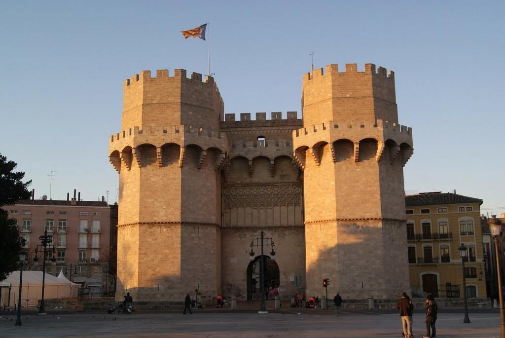 Torres de Serranos, Valencia. Photo: Pixabay