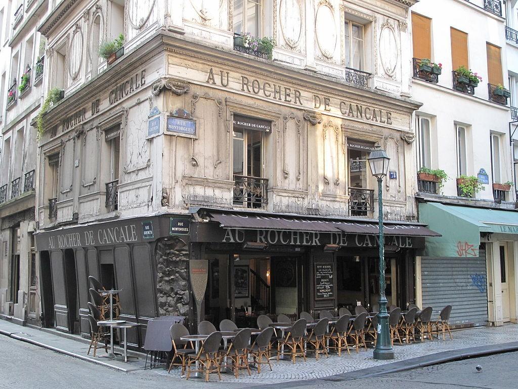 Au Rocher de Cancale │© Tangopaso/Wikimedia Commons