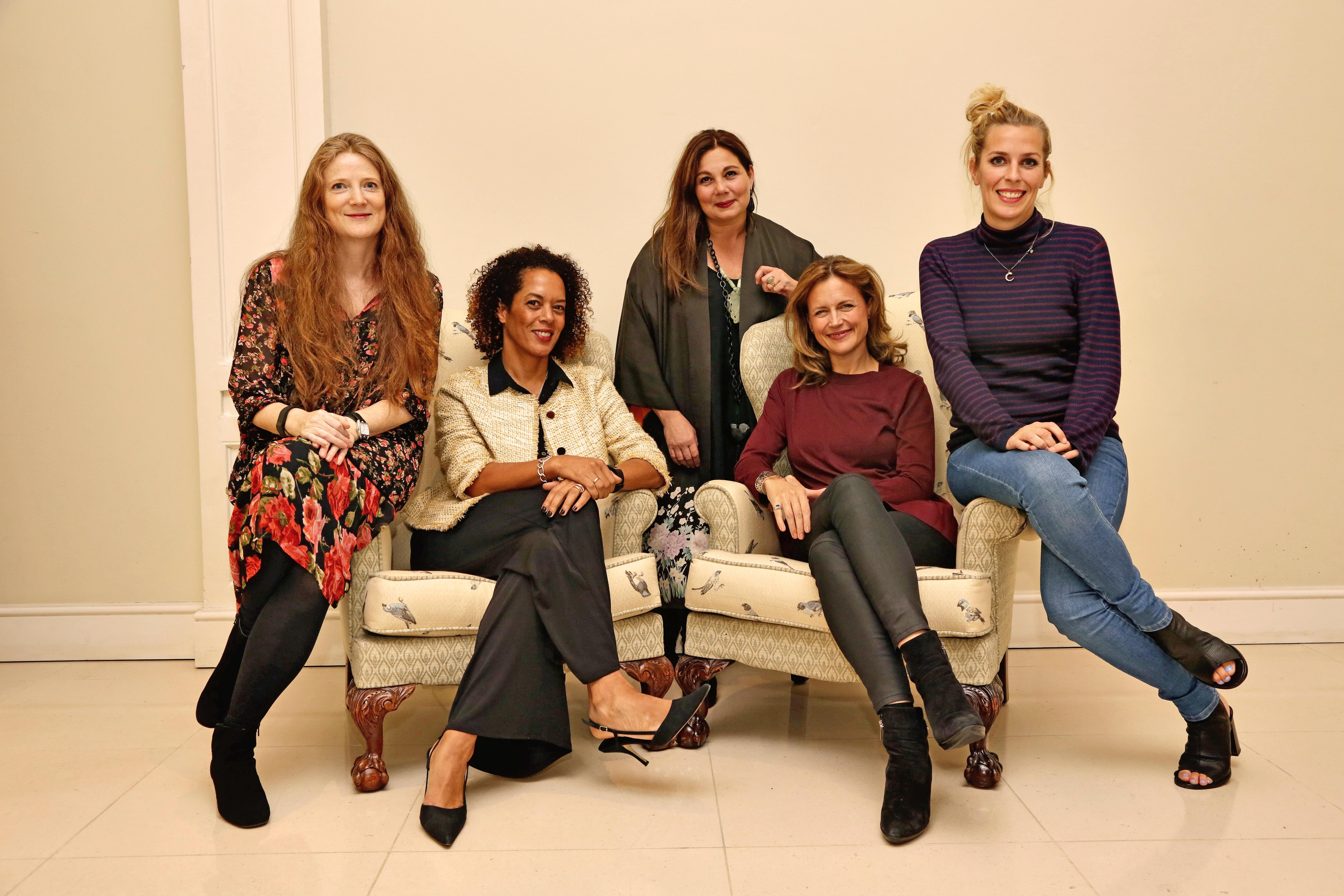 The Baileys Women's Prize for Fiction judges | Courtesy of Kallaway