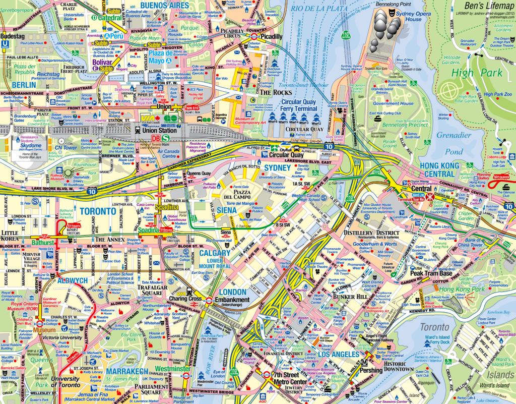 A custom Lifemap by Andrew Alfred-Duggan | © Andrew Alfred-Duggan