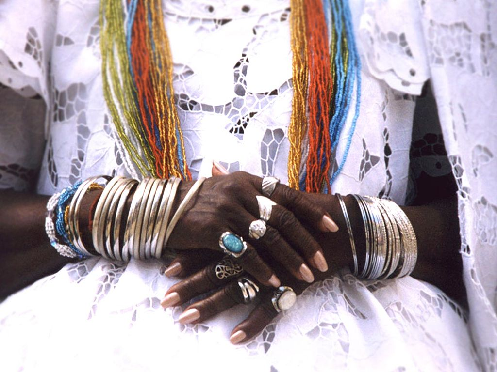 In ritual clothes of Candomble |© Candomblé/WikiCommons