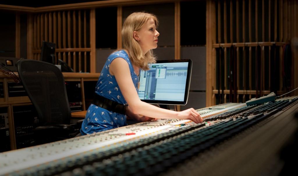 Olga Fitzroy works as a recording and mix engineer | © Blake Ezra