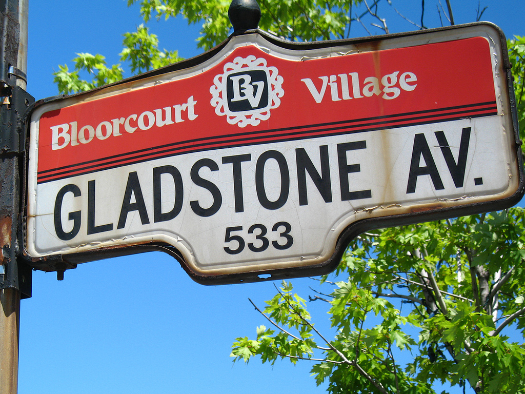 Bloorcourt Village street sign, Toronto | © Jamie/ Flickr