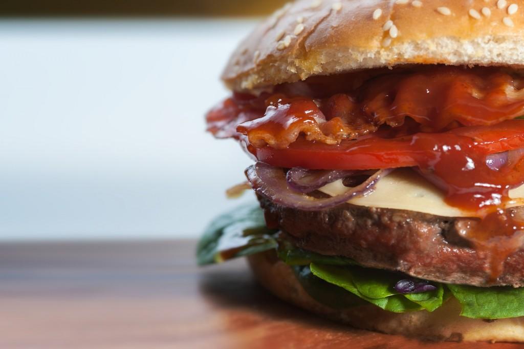 An American burger | © Pixabay