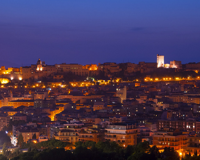 Cagliari di notte©D4N:Flickr