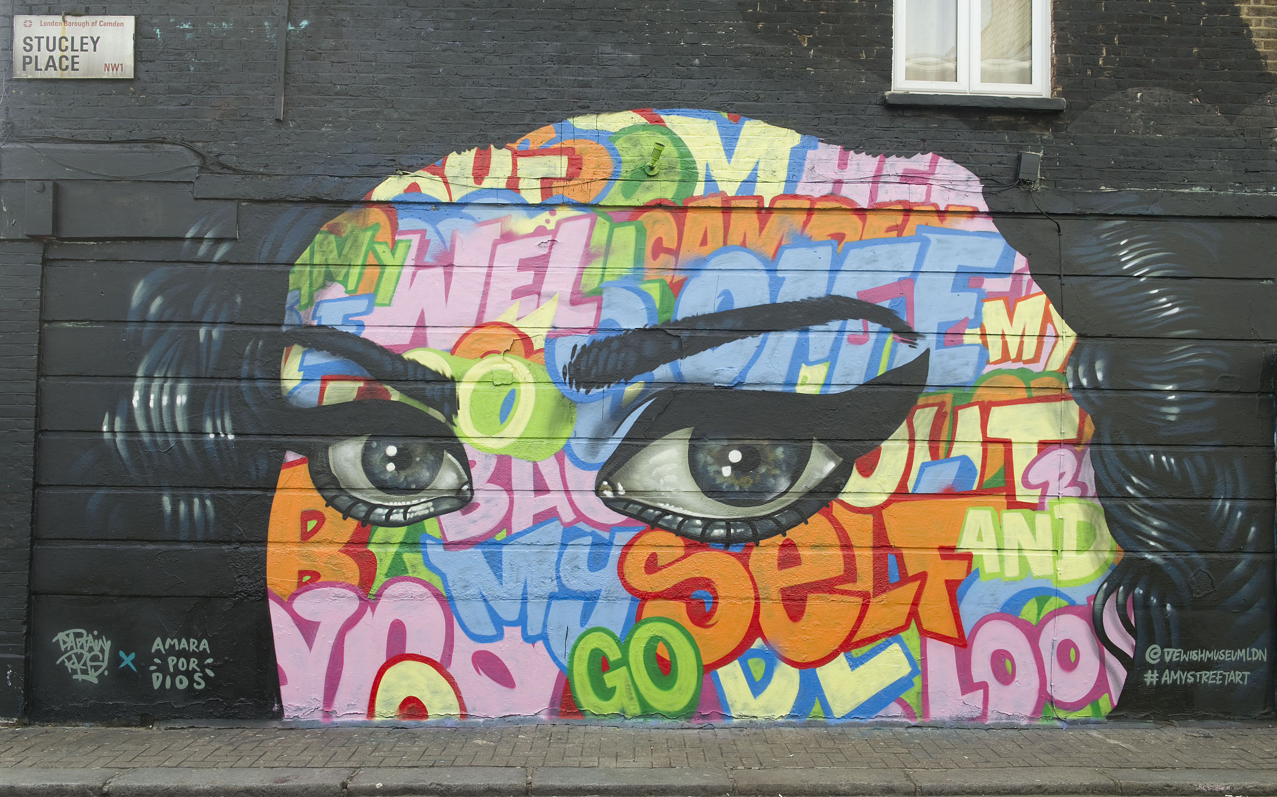 Take A Tour Of London In Amy Winehouse Street Art