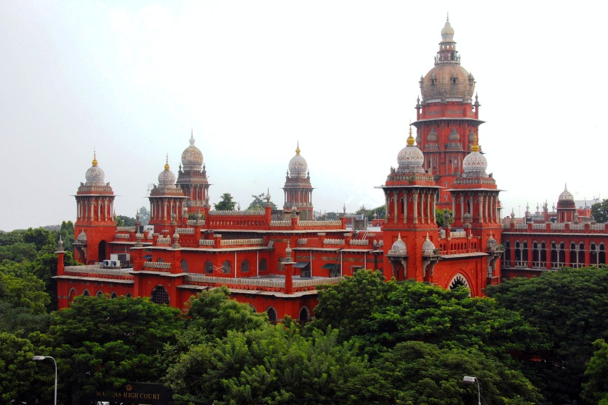 Madras High Court | © Yoga Balaji/Wikimedia Commons