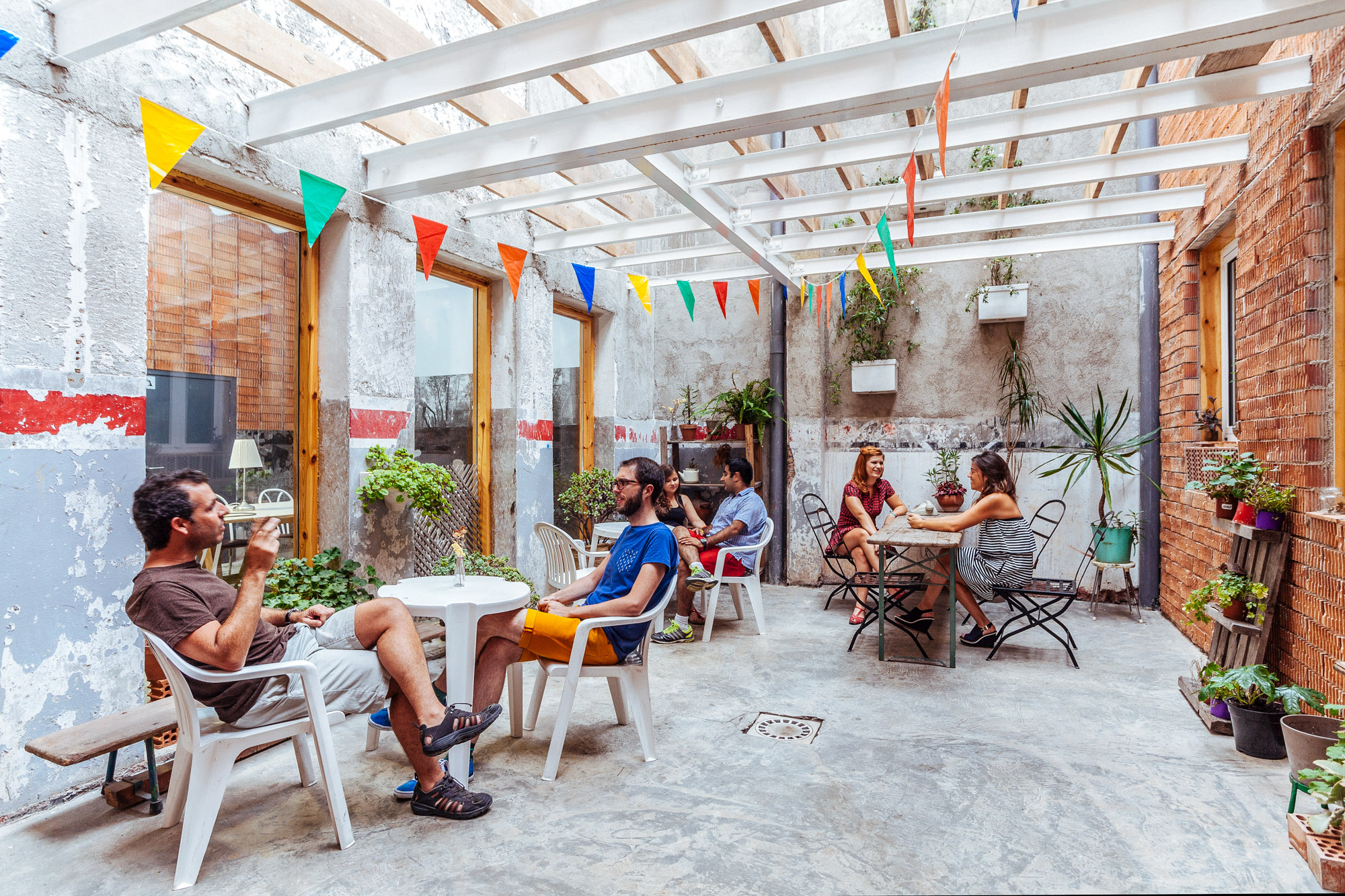 Relax on the terrace of Betahaus Courtesy of Betahaus