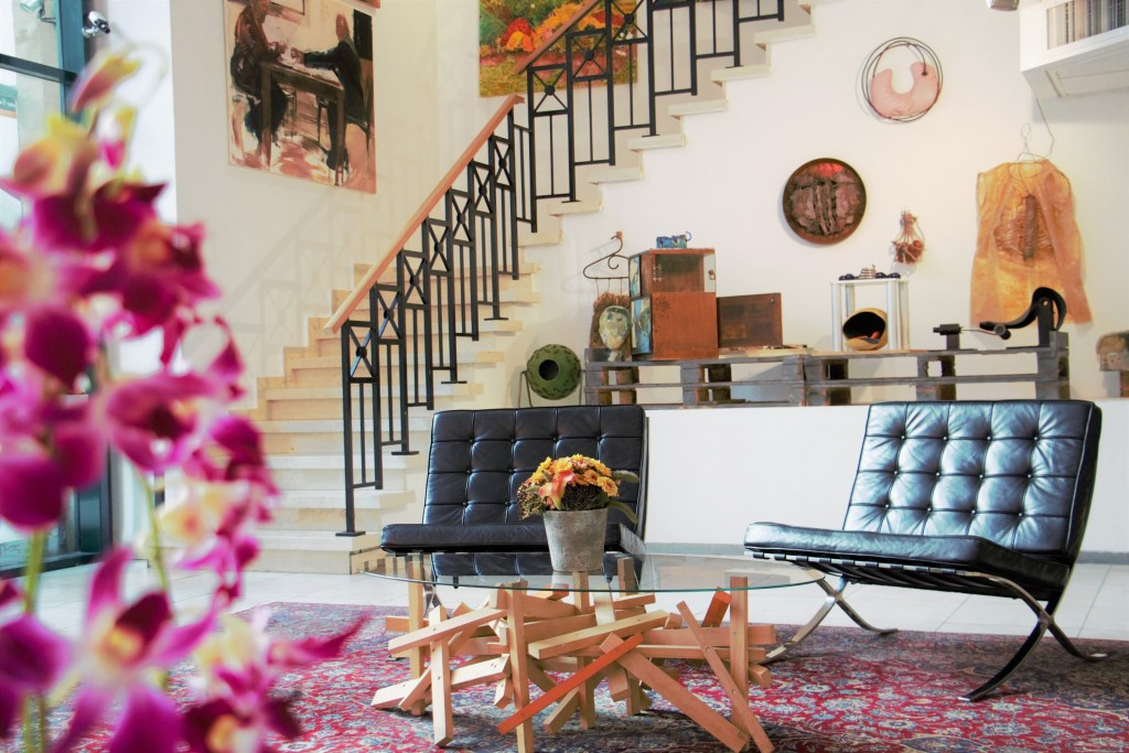 Just another eclectic day in the lobby of Tel Aviv's The Diaghilev Hotel | The Diaghilev Hotel ©, courtesy PR