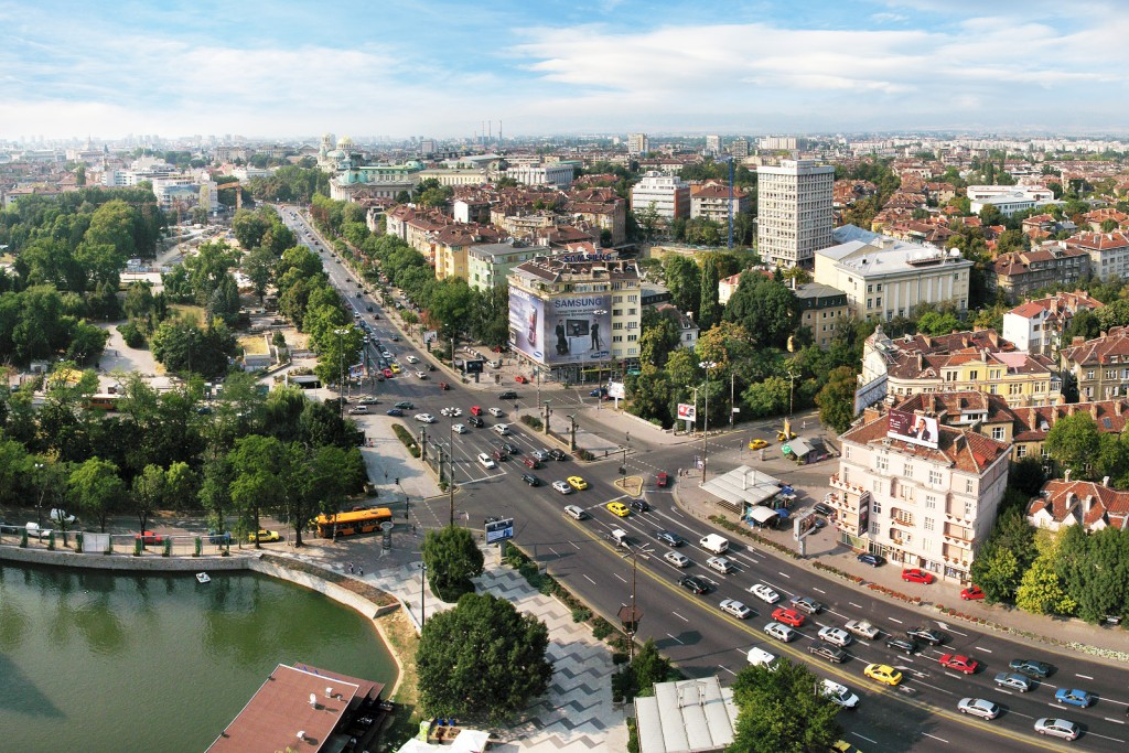 The center of Sofia | © Boby Dimitrov/WikiCommons