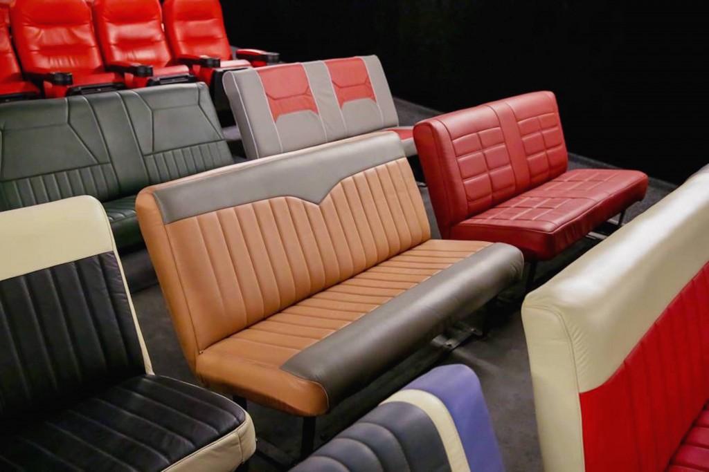 Movie seats at the Belas Arte Drive-In, São Paulo © Belas Artes