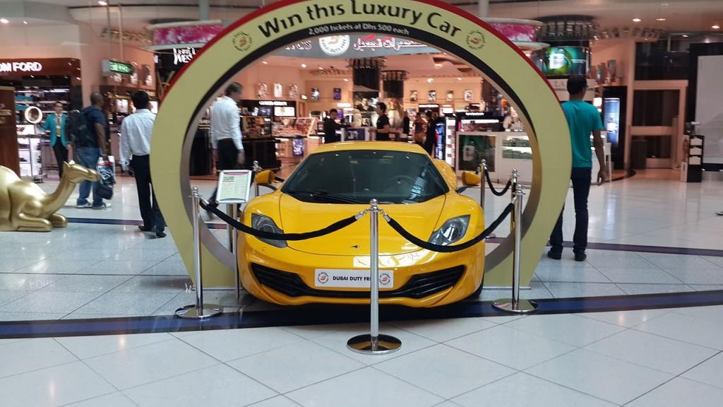 Dubai Duty Free Raffle prize | © Farhan-sagittarius / Wikimedia