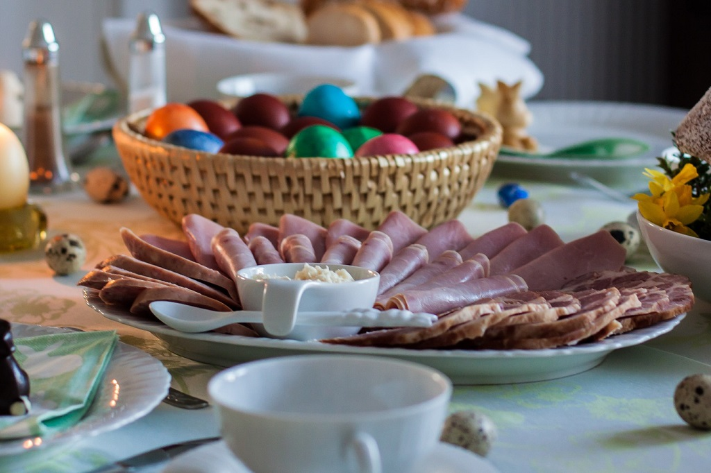 Hungarian Easter Breakfast