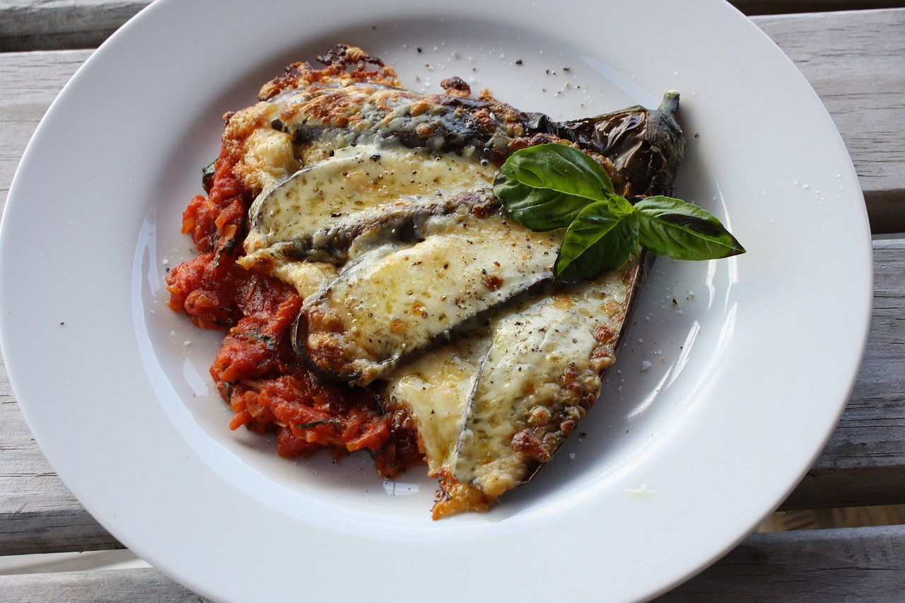 Eggplant parmesan   Pixabay