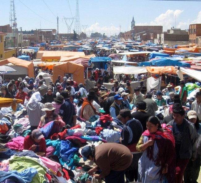 El Alto market | © juhauski72/Flickr