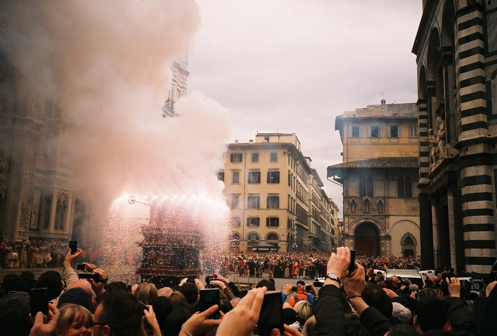 Florence, Italy, Easter