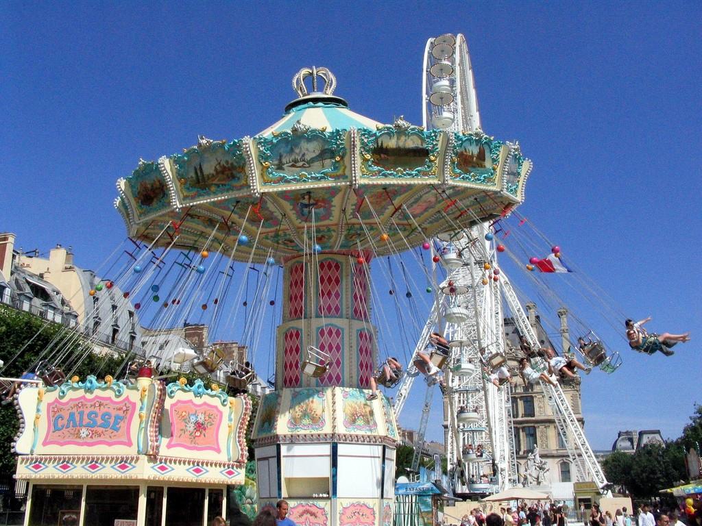 Fair at the Tuileries │© Pascal Terjan / Flickr