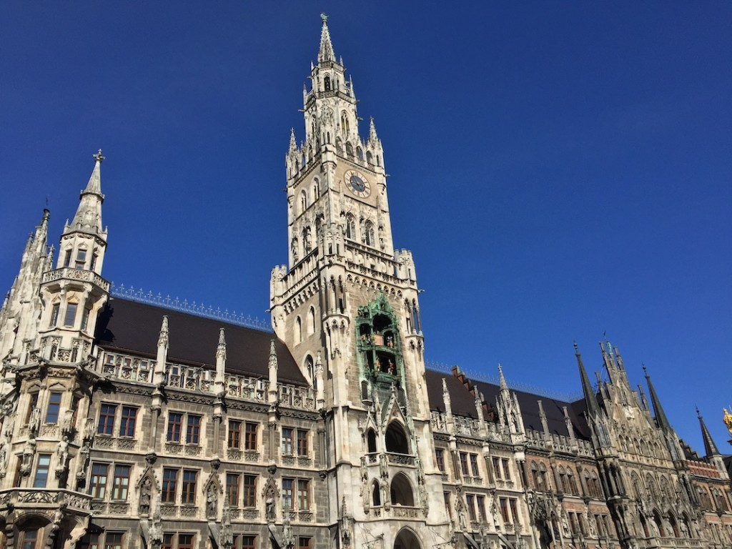 Neues Rathaus, Marienplatz © Roanna Mottershead