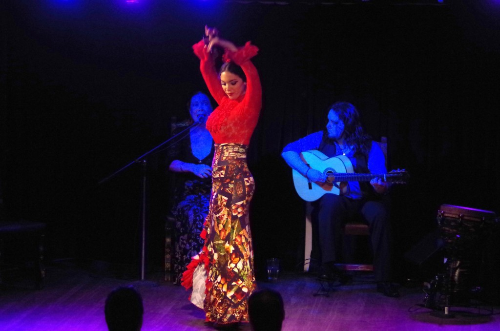 Flamenco at El Cid | ©Juliet Bennett Rylah
