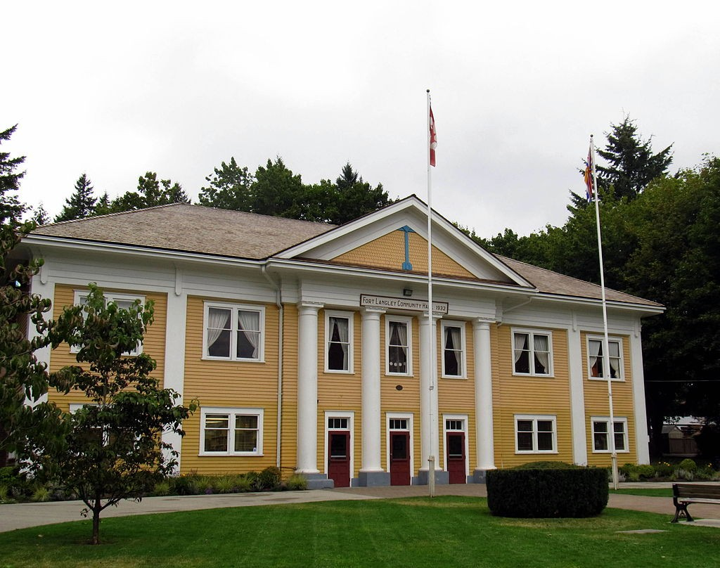 Fort Langley Community Hall | © MWoodbc / Wikimedia Commons