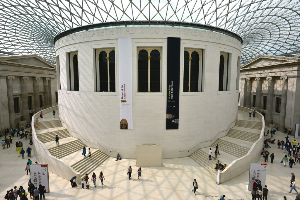 The British Museum's famous grand court | © Hurk / Pixabay