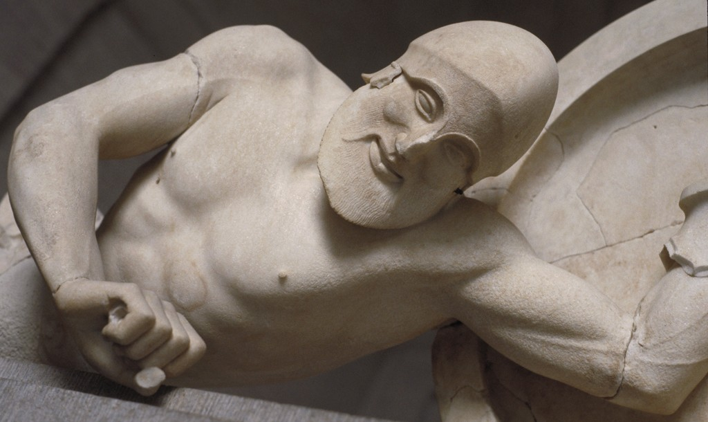Dying warrior, from the Temple of Aphaia, Aegina | © MCAD Library, by Allan T. Kohl / Flickr