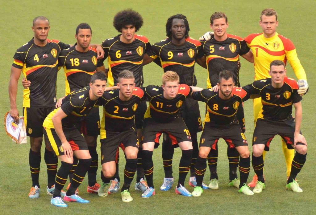 Belgium's current 'golden generation' | © Erik Drost / Flickr