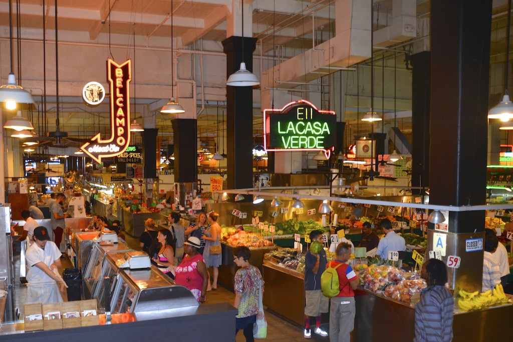 Grand Central Market|©Neon Tommy/Flickr