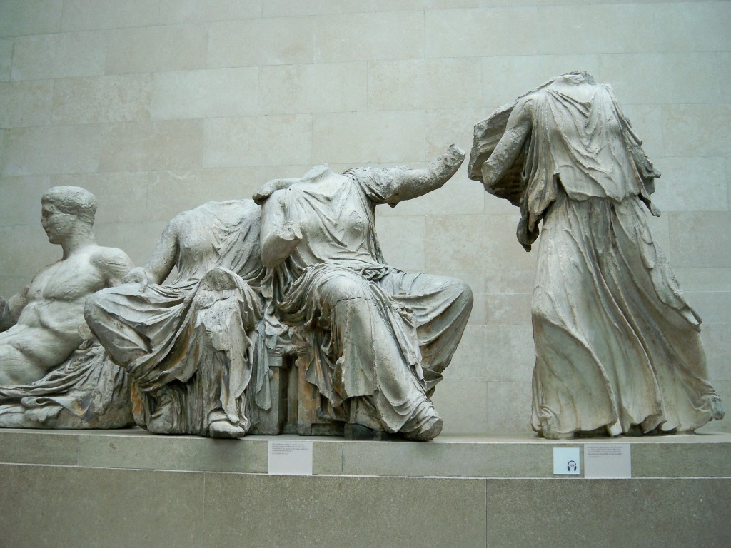 Grecian statues at the British Museum | © Symvol / Pixabay