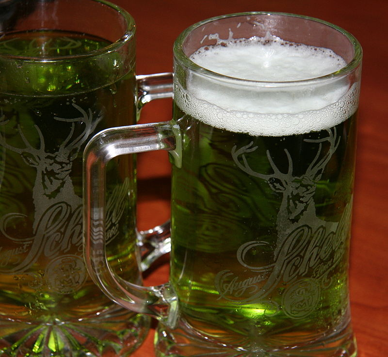 Green Beer for St Paddy's Day| © Jonathunder/ WikiCommons