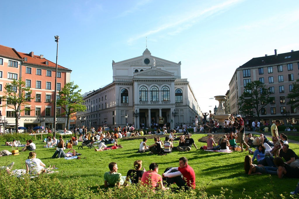 Gärtnerplatz in Glockenback © Patrick Gruban / Flickr
