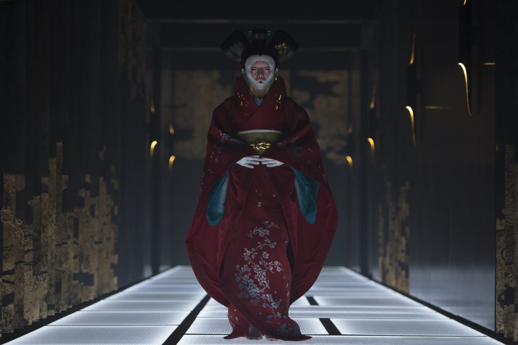 Geisha in Ghost in the Shell | © Paramount Pictures and DreamWorks Pictures