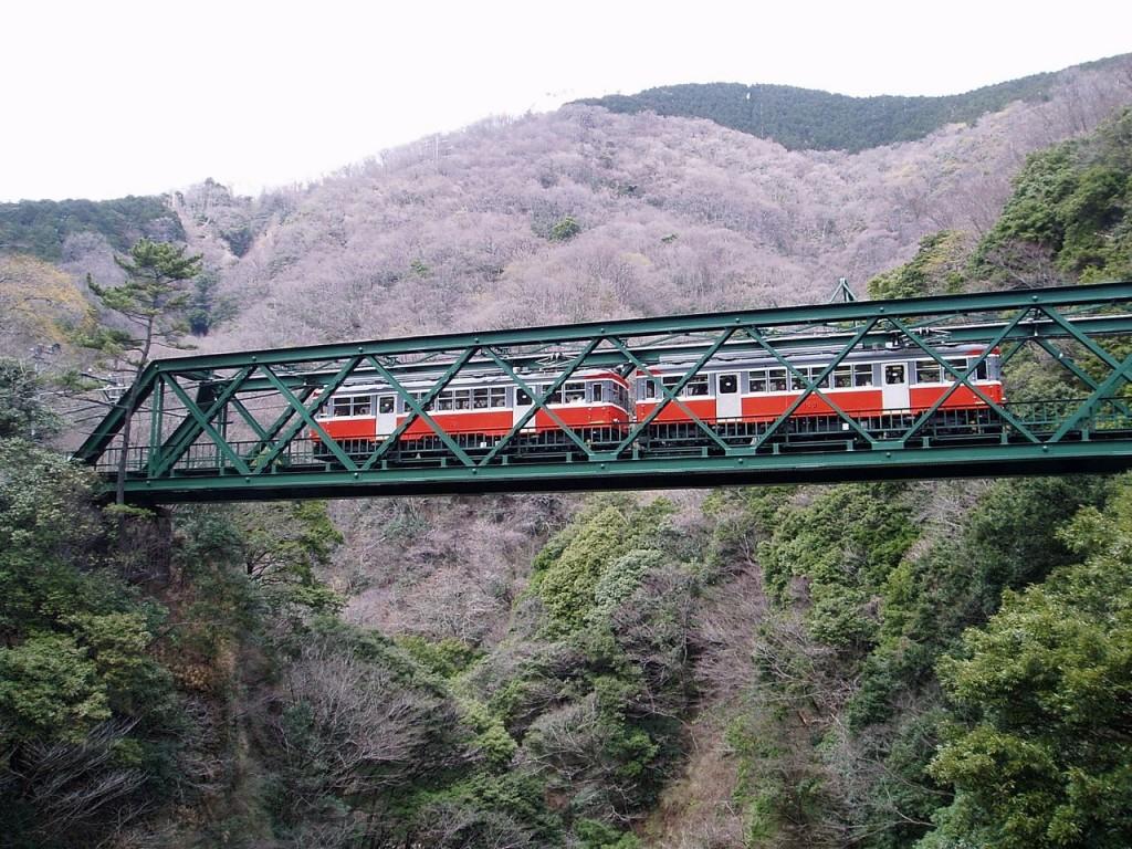 Hakone Tozan Railway Hayakawa Bridge | © Cassiopeia sweet / Wikimedia Commons