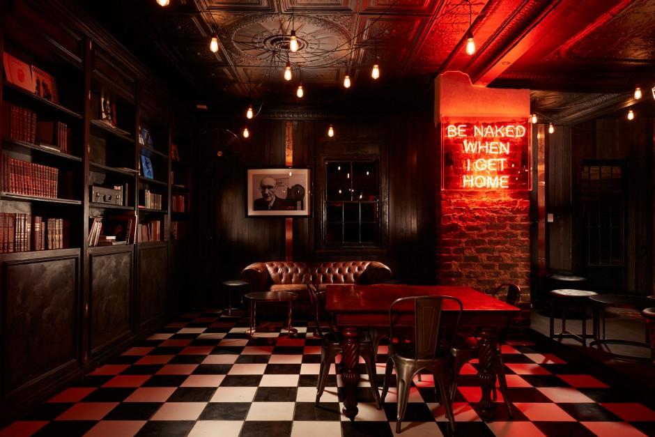 Hell's Kitchen restaurant interior