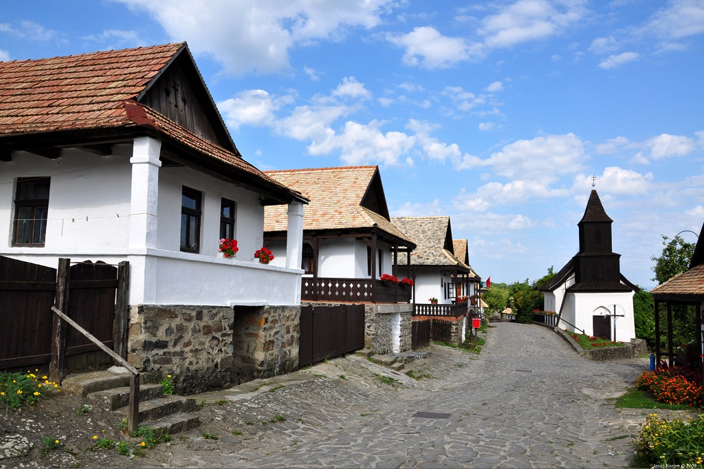 Hollókő village Hungary