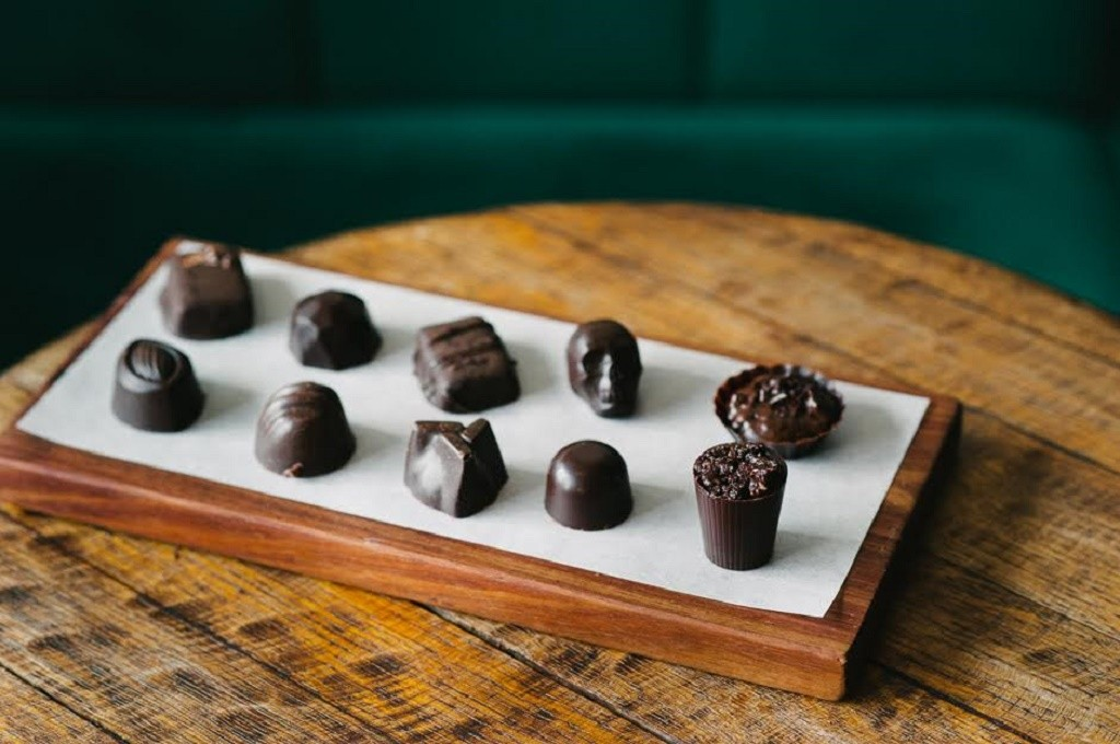 Interesting shaped truffles at Honest Chocolate © Courtesy of Honest Chocolate
