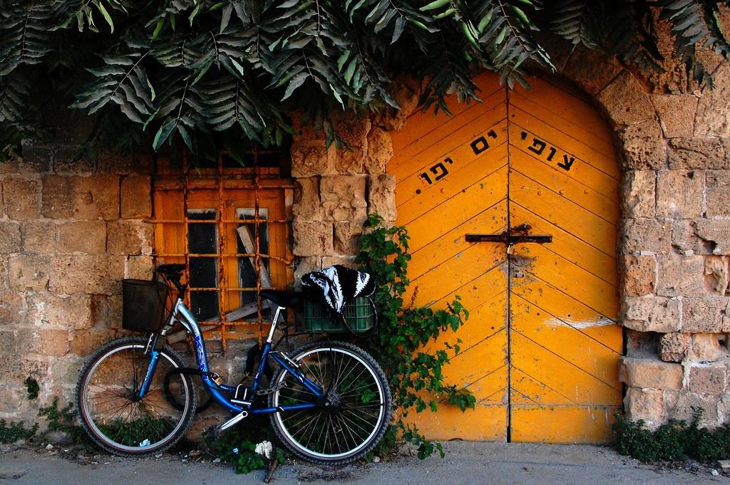 A hidden old door in Jaffa's Old City's port | © bachmont / Flickr