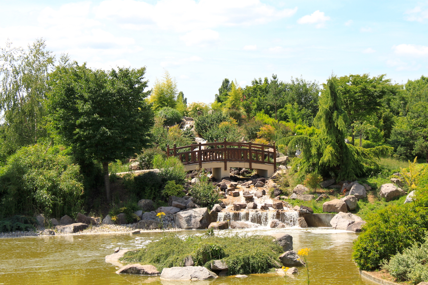 The 10 most beautiful parks and gardens in dijon for Jardin japonais