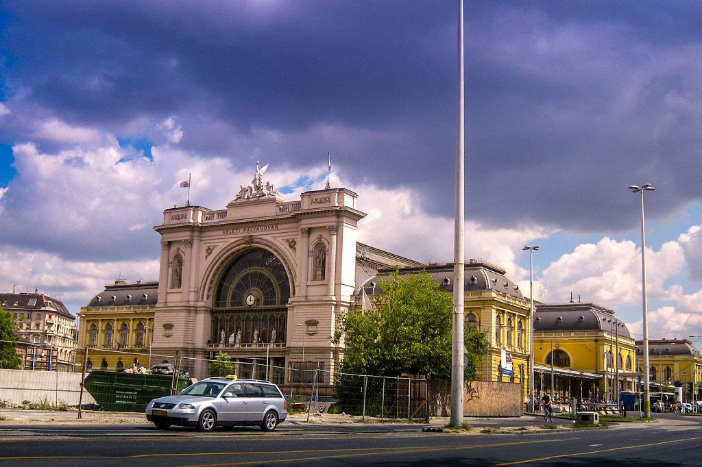 Keleti Train Station Budapest