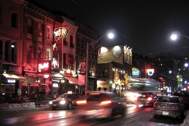 King Street at Night| © John Vetterli/ Flickr