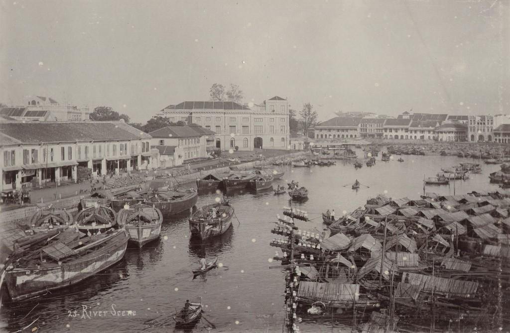 Port of Singapore circa 1900/WikiCommons