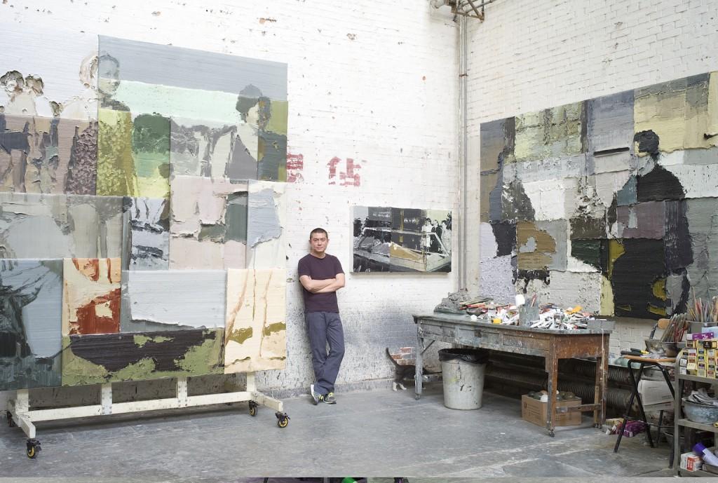 Portrait of Li Songsong in his studio | Courtesy of Pace Beijing