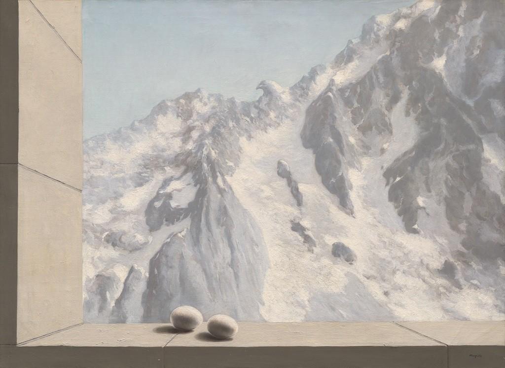 René Magritte, Le domaine d'Arnheim (1938) © Christie's Images Limited 2017