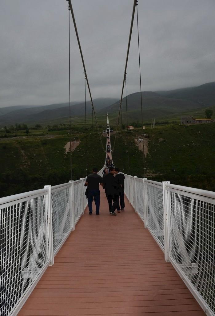 Visitors walk along the bridge which was inaugurated in 2015 | © auoob farabi / Wikimedia Commons