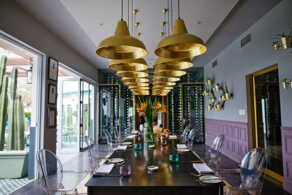 Makaron Restaurant interior