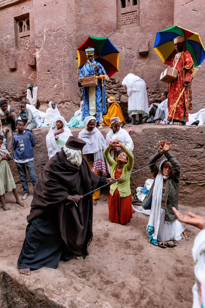 Mario Adario, The exorcist from the series 'Ethiopian Christmas Pilgrimage to Lalibela', 2017 | © Mario Adario, Italy, Shortlist, ZEISS Photography Award