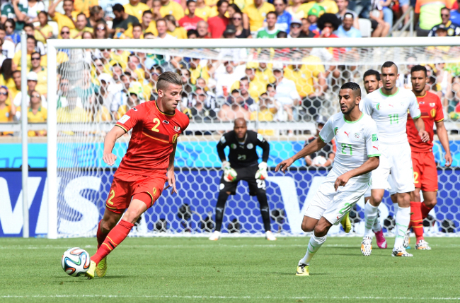Belgium facing Algeria in the 2014 World Cup | © Magharebia / Wikimedia Commons