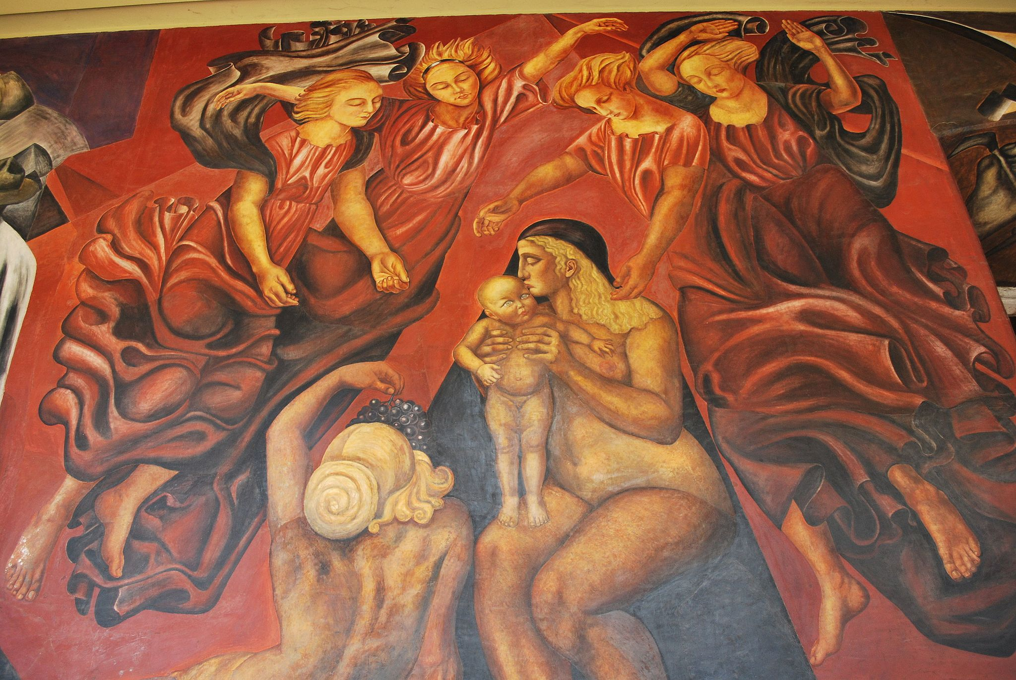 An introduction to mexican muralism in 10 iconic artworks for El hombre de fuego mural de jose clemente orozco